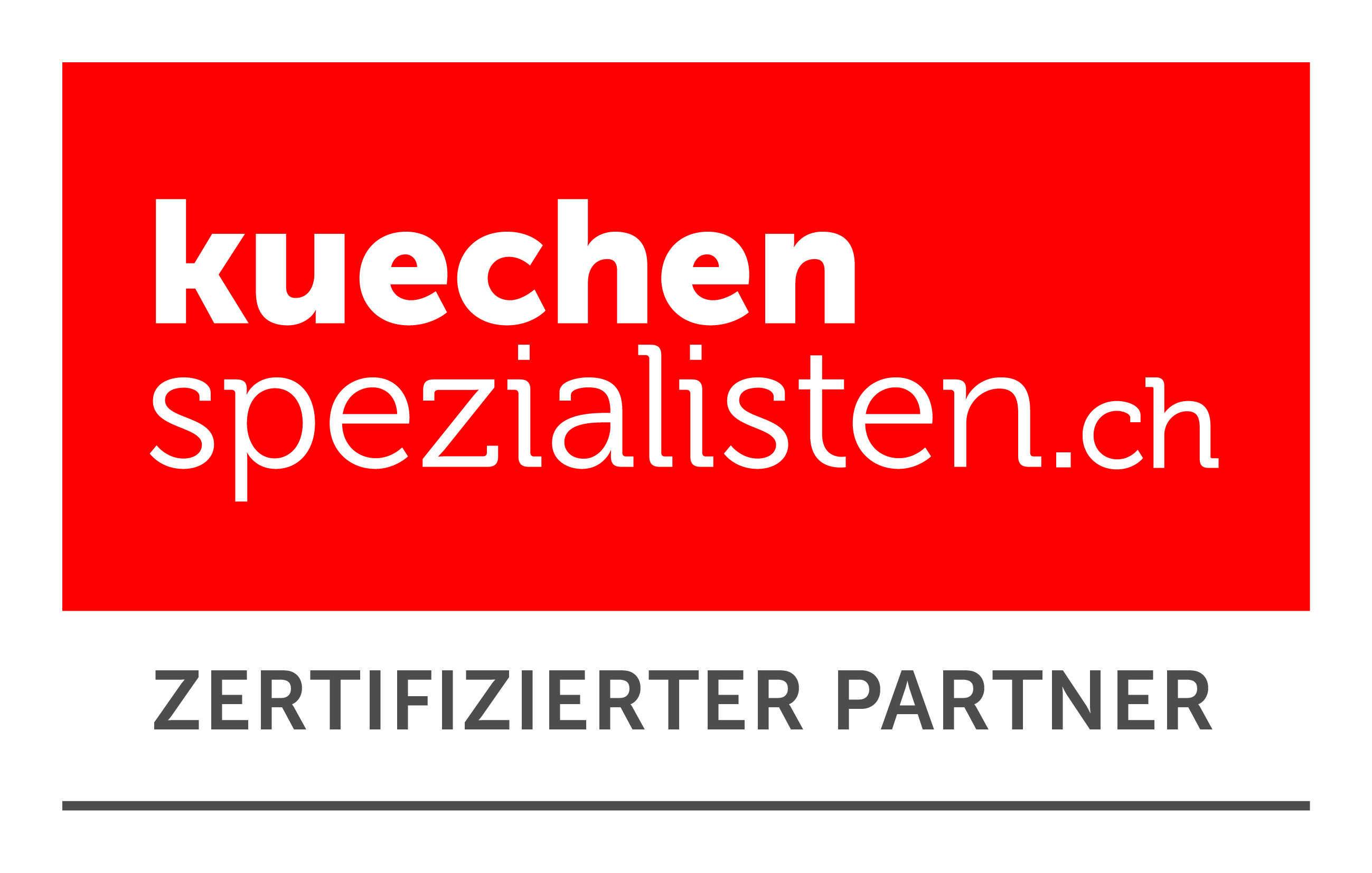 Zertifizierter Partner von Küchenspezialisten.ch