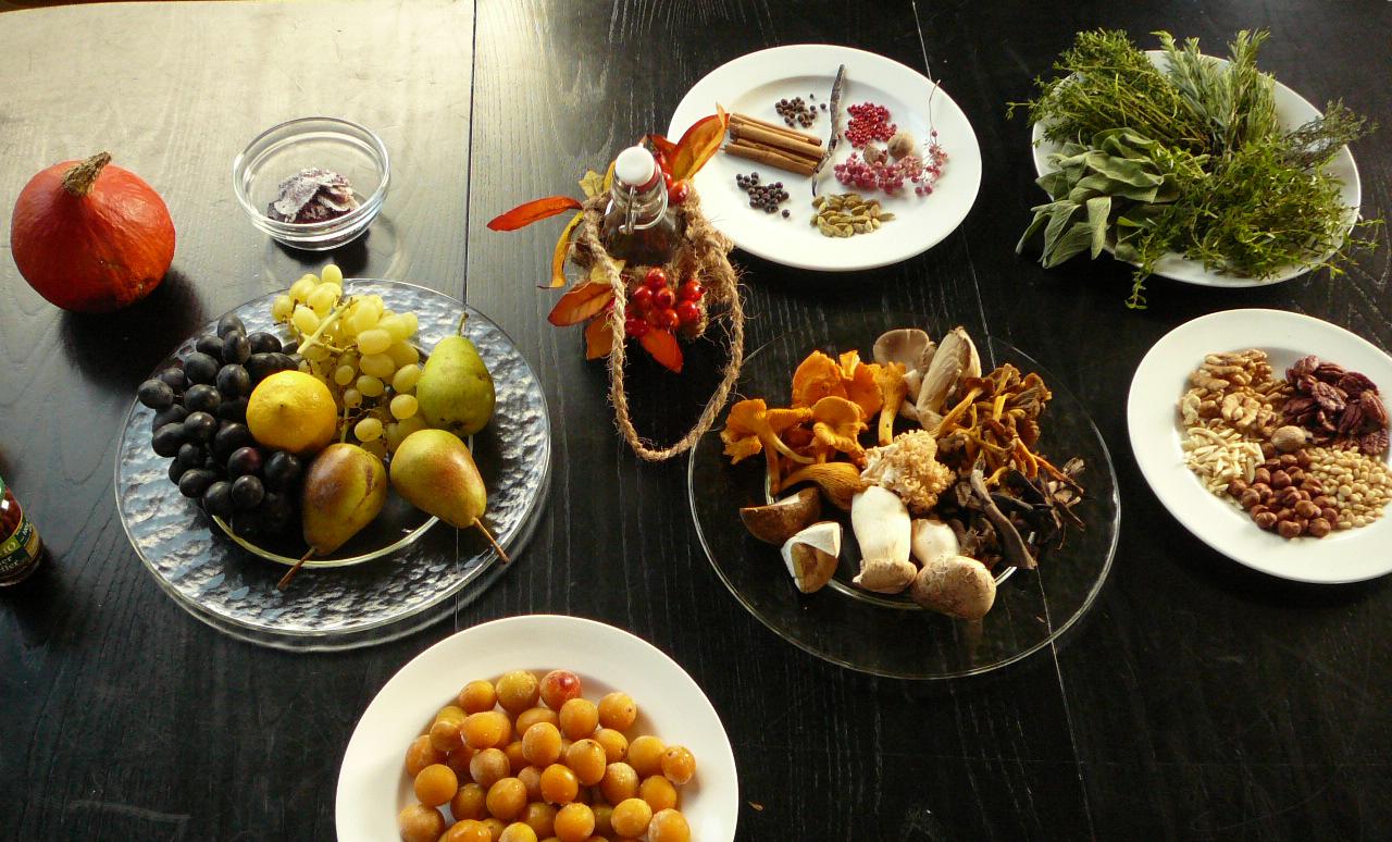 Herbstliche Ernte -kochen, backen und haltbar machen 2